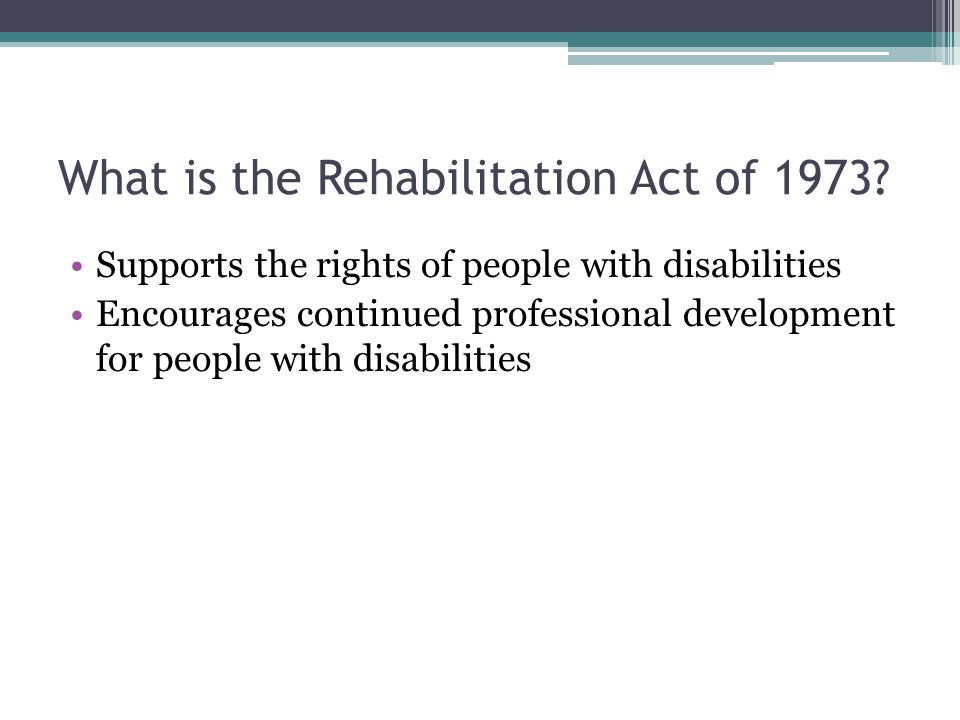IDEA- Individuals with Disabilities Education Act