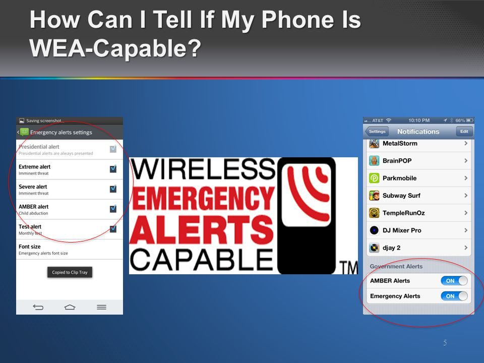 How Can I Tell If My Phone Is WEA-Capable? 5