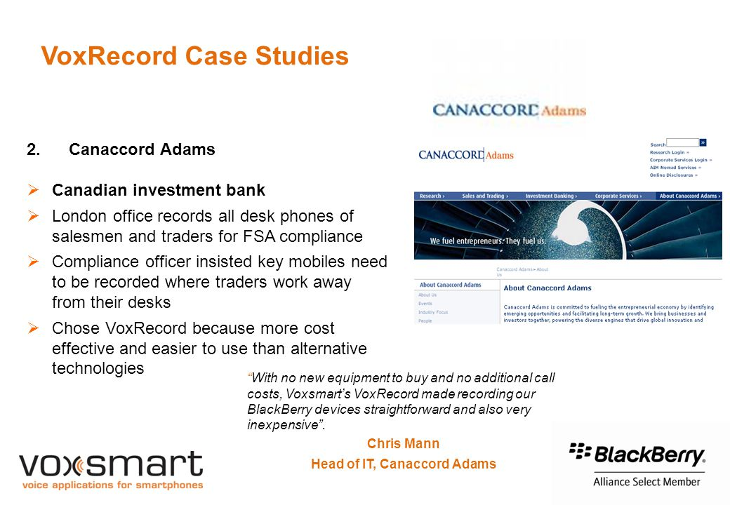 VoxRecord Case Studies 2.