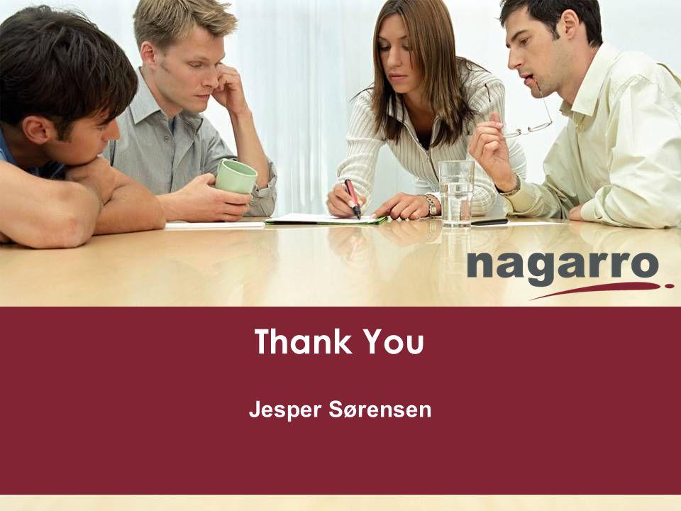Thank You Jesper Sørensen