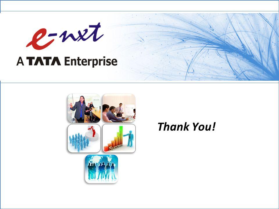 e-Nxt Financials Limited Thank You!