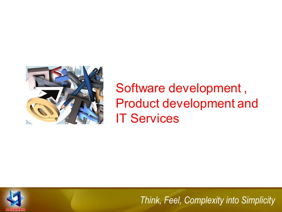 Software development, Product development and IT Services