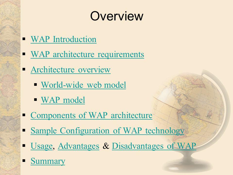WAP- Wireless Application Protocol Centre for Computer Studies, Dibrugarh University, Dibrugarh