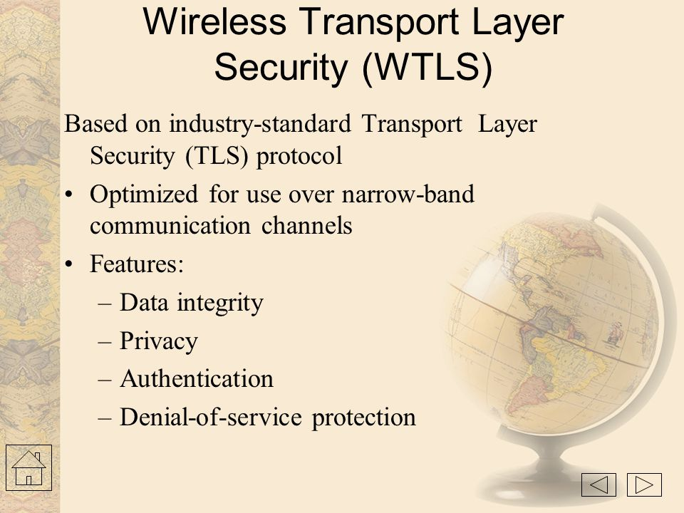 Wireless Transaction Protocol (WTP) »Runs on top of a datagram service The WAP transaction protocol (WTP) layer provides transaction support, adding r