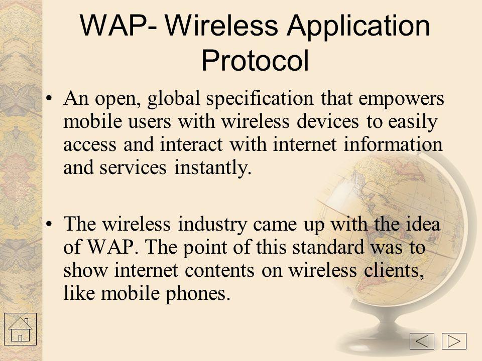 Overview  WAP Introduction WAP Introduction  WAP architecture requirements WAP architecture requirements  Architecture overview Architecture overvi