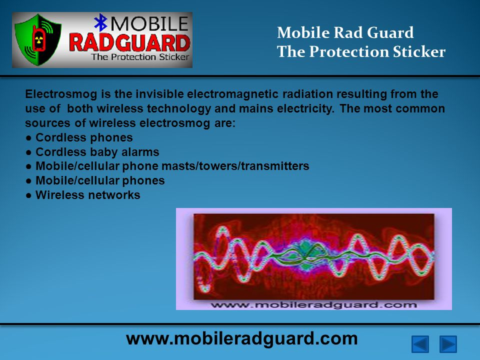 Mobile Rad Guard The Protection Sticker The impact of electromagnetic radiation can lead to oncological (cancer) diseases, diseases of the neuro-psychiatric, disorders of blood.