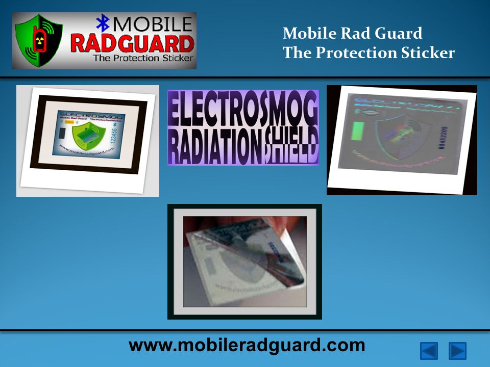 Mobile Rad Guard The Protection Sticker Electrosmog is responsible for a condition known as electro-sensitivity (ES) or electro-hypersensitivity (EHS).