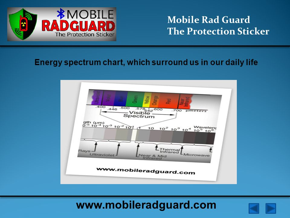 Mobile Rad Guard The Protection Sticker The electromagnetic field generated by the charge in the oscillating circuit generates two components: - Heat (energy) - Non-thermal - vortex electric field created by changing the gradient of the magnetic induction www.mobileradguard.com