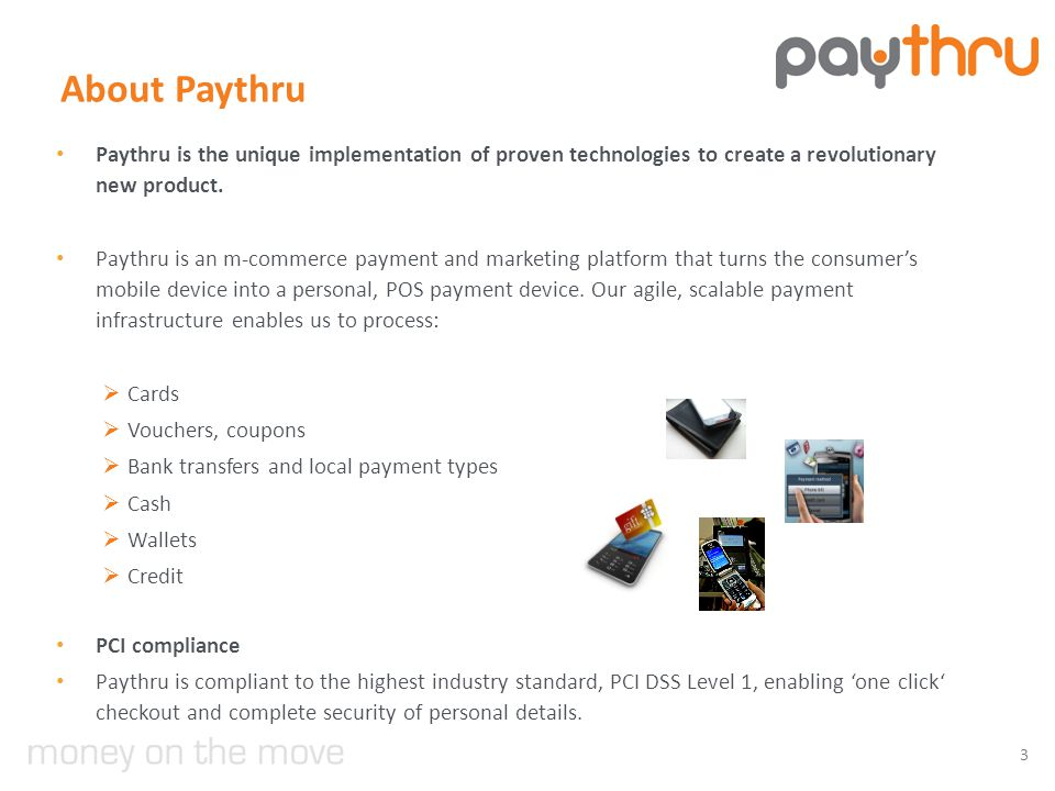 About Paythru Paythru is the unique implementation of proven technologies to create a revolutionary new product.