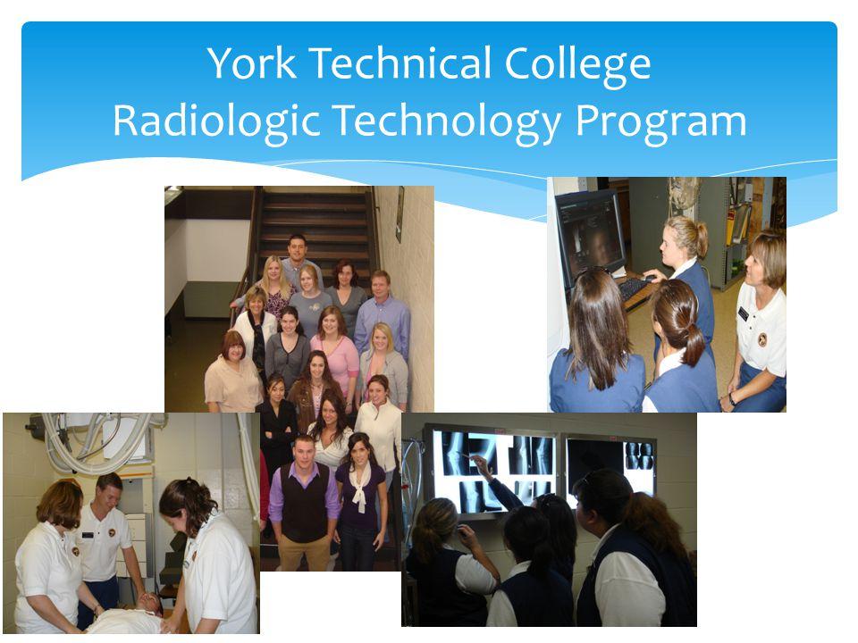 York Technical College Radiologic Technology Program