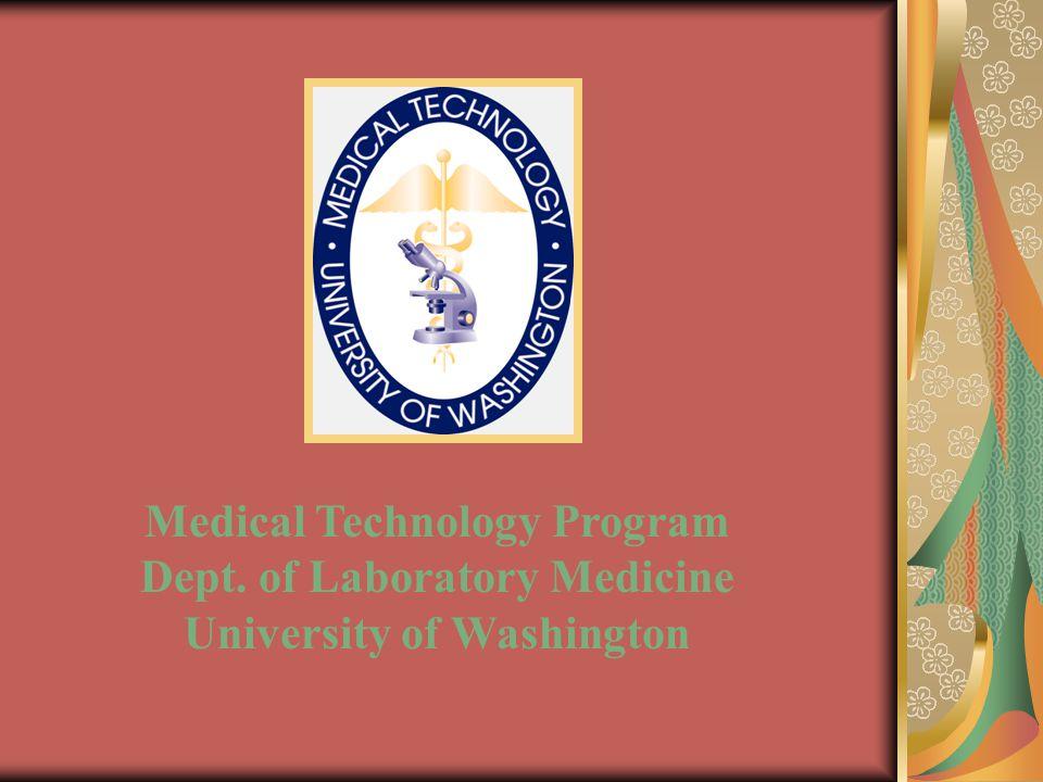 Description of Medical Technology Career Description of Medical Technology Program A Glimpse of Med Tech Student Life Overview