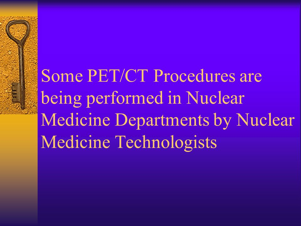 Research Equals Knowledge  Where is PET/CT being performed  Who's performing PET/CT  What education/skills are required