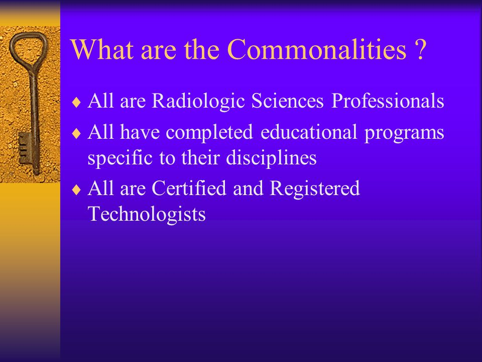 The Ideal Pet-CT Technologist . Joanne Doe, R.T. ( R ) ( N ) ( T ) ( CT ) Or Joanne Doe, R.T.