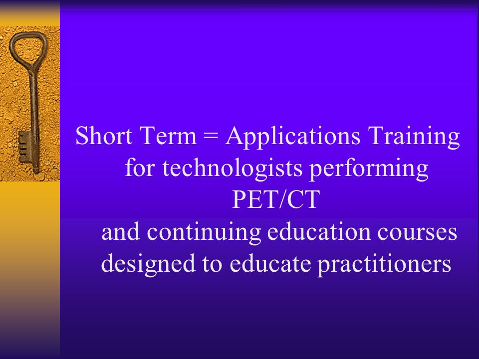 So what is the answer to the educational challenges presented by fusion imaging technology ??????