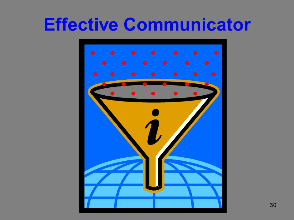 30 Effective Communicator