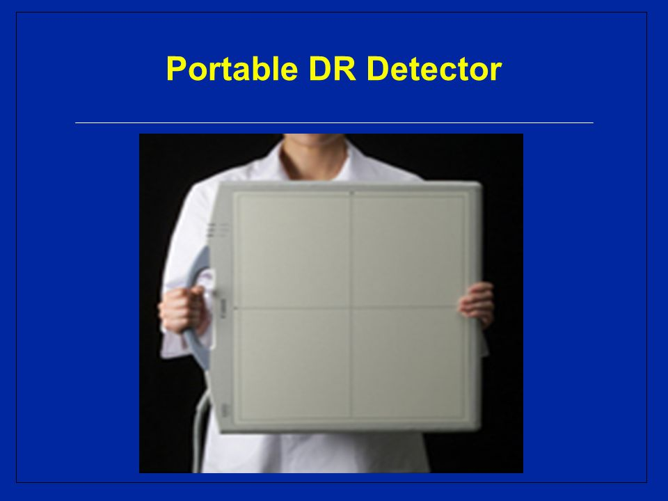 Portable DR Detector