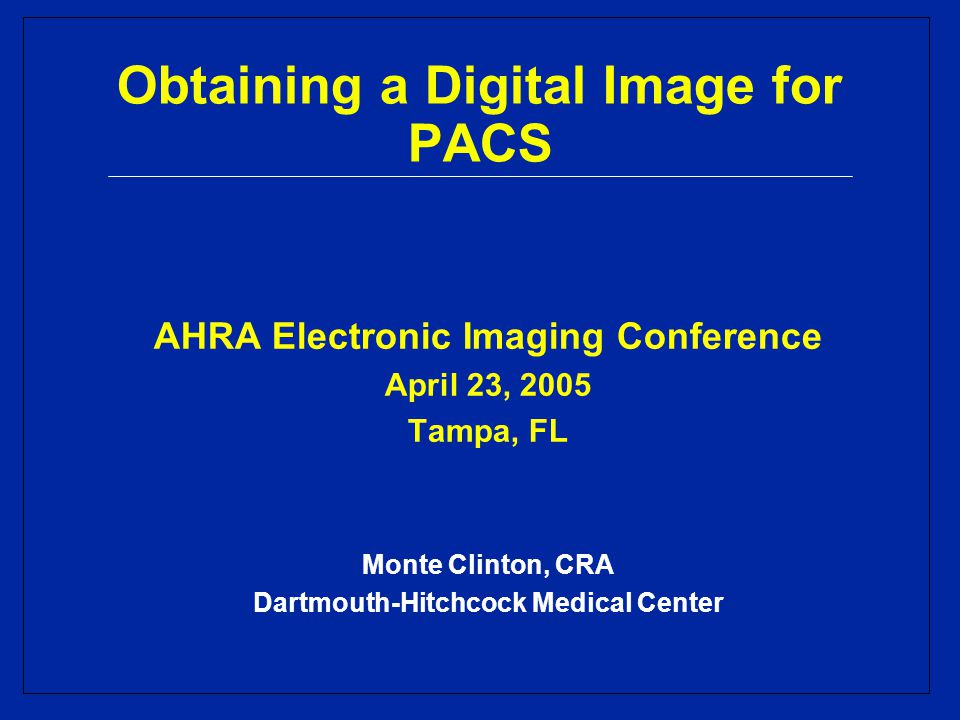 Benefits of DR/CR DR-CR is the Road to PACS Increase technologist productivity Increase imaging room capacity Utilize existing space better Decrease patient waiting time