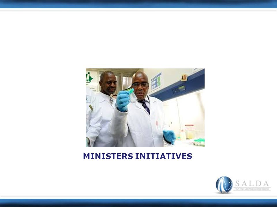 MINISTERS INITIATIVES