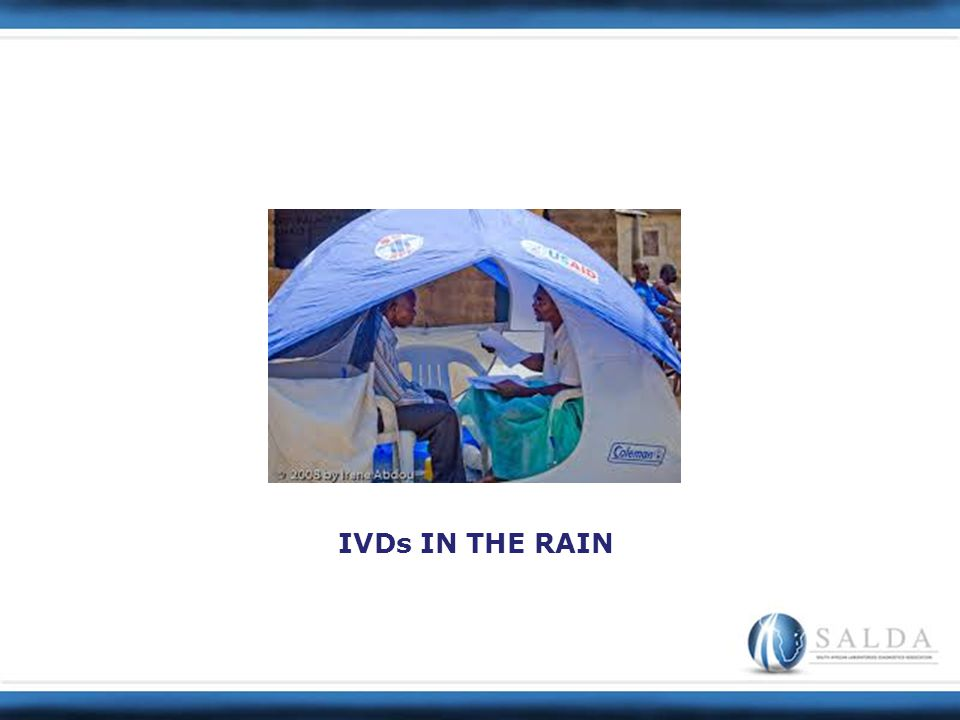 IVDs IN THE RAIN