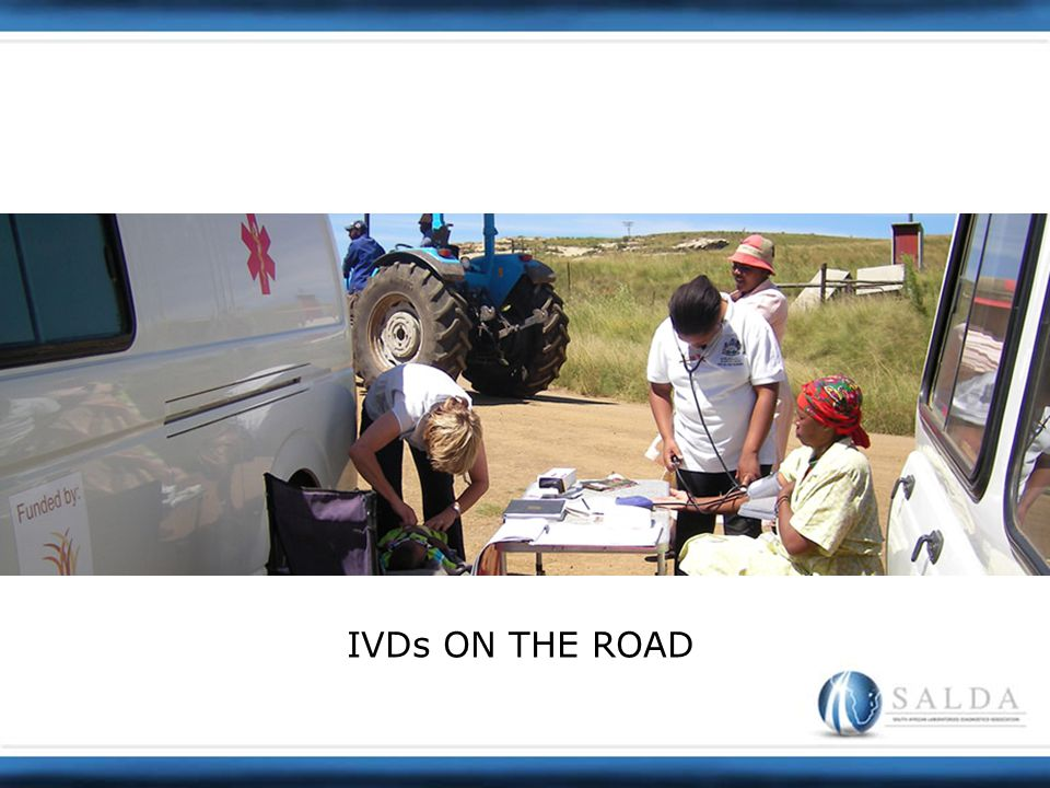 IVDs ON THE ROAD