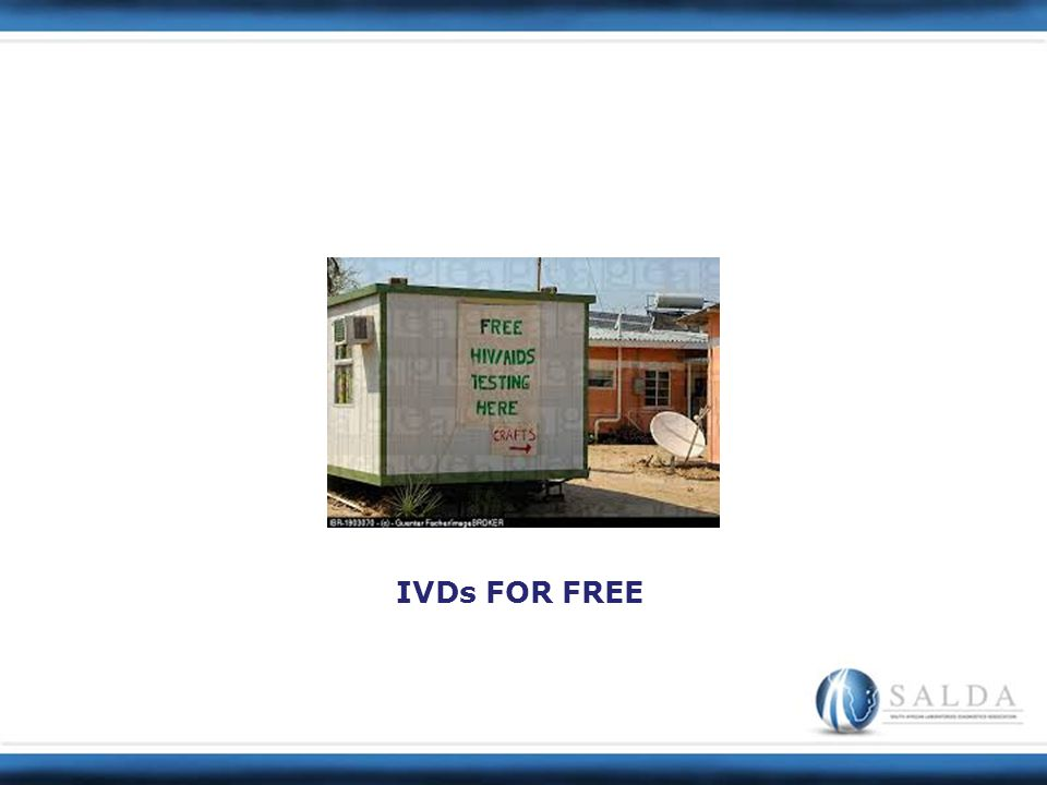 IVDs FOR FREE