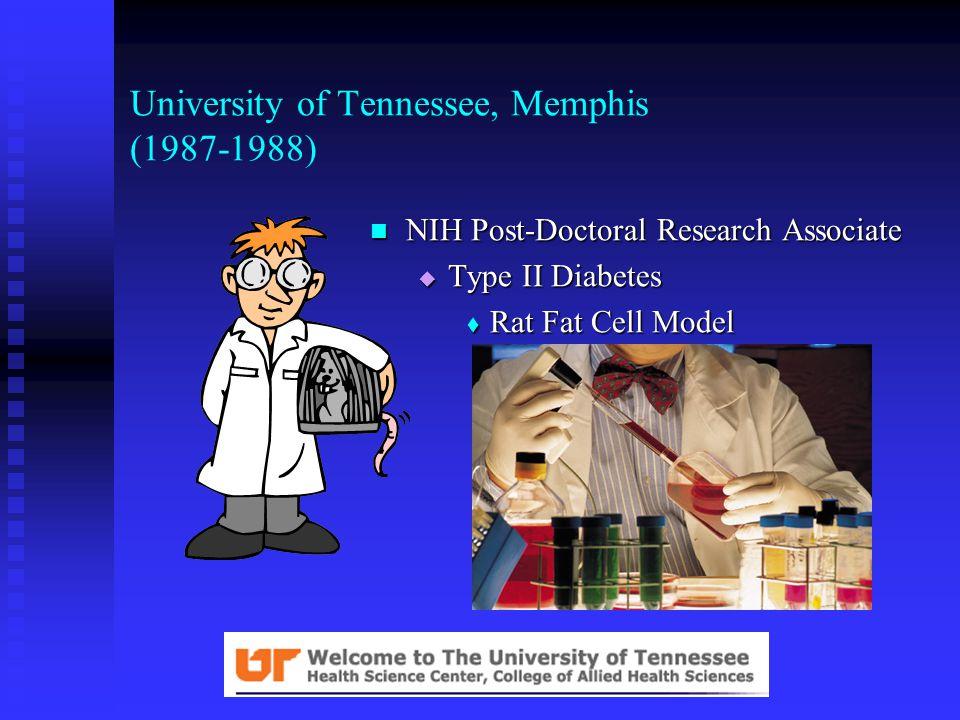 North Carolina State University (1984-1987) Graduate Research & Teaching Assistant Graduate Research & Teaching Assistant  Ph.D.