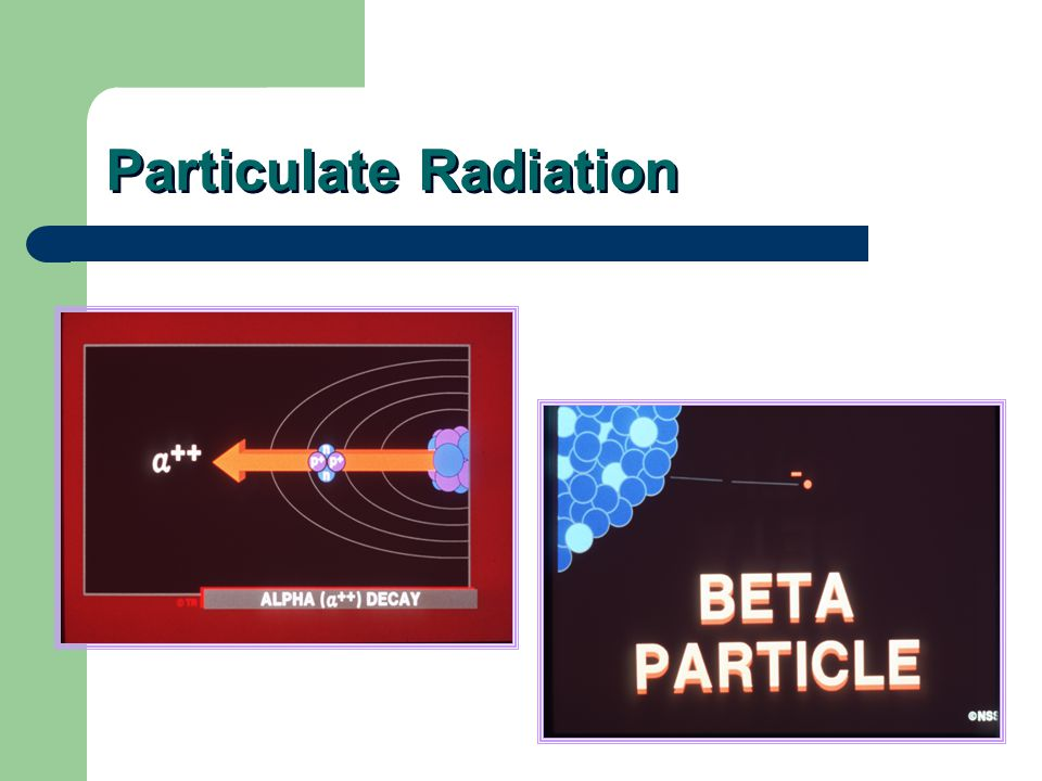 Radiation can be particulate or electromagnet. Particulate radiation has mass. Electromagnetic radiation is a mass-less packet of energy called a phot