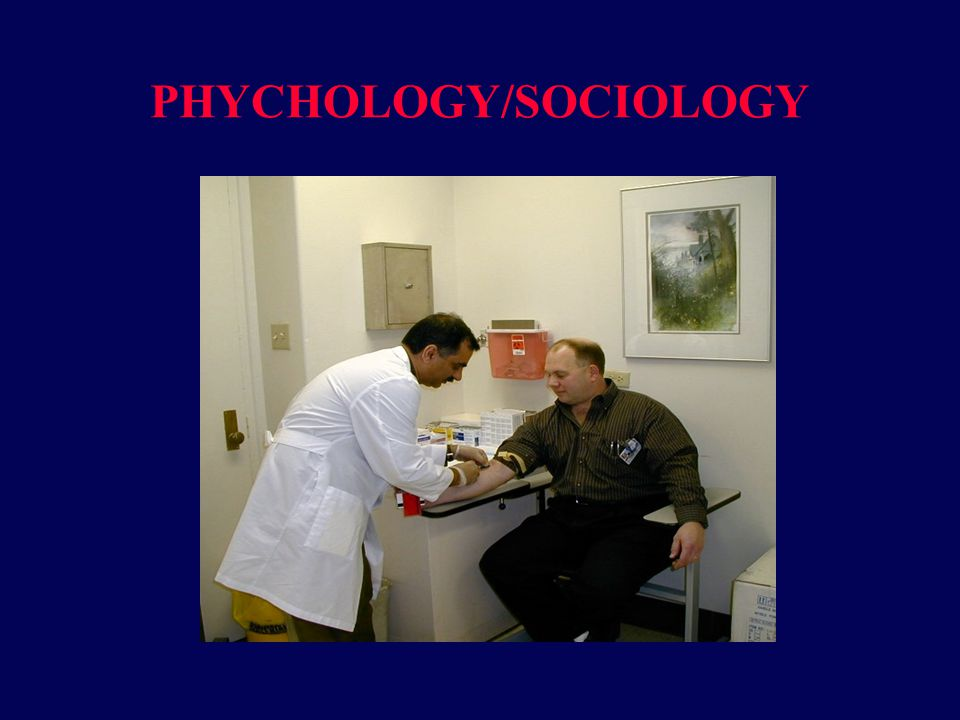 PHYCHOLOGY/SOCIOLOGY
