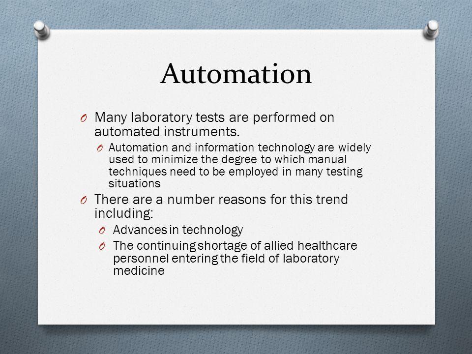 Automated Medical Laboratory Photo by – G Ü liz A. Barkan, MD