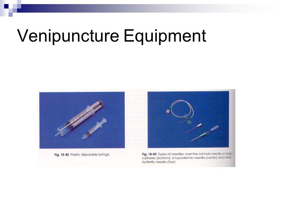 Venipuncture Equipment