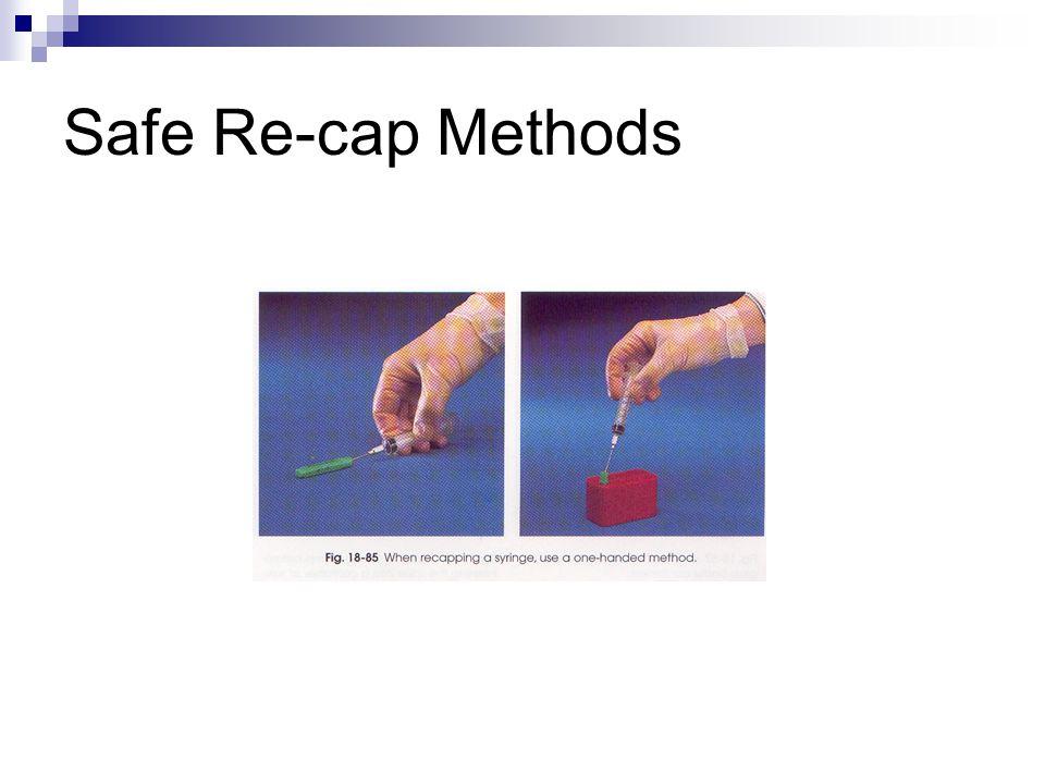 Safe Re-cap Methods