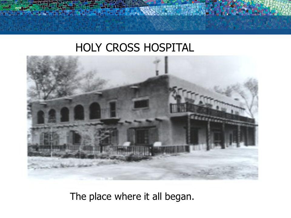SCHOOL OF RADIOLOGIC TECHNOLOGY HOLY CROSS HOSPITAL