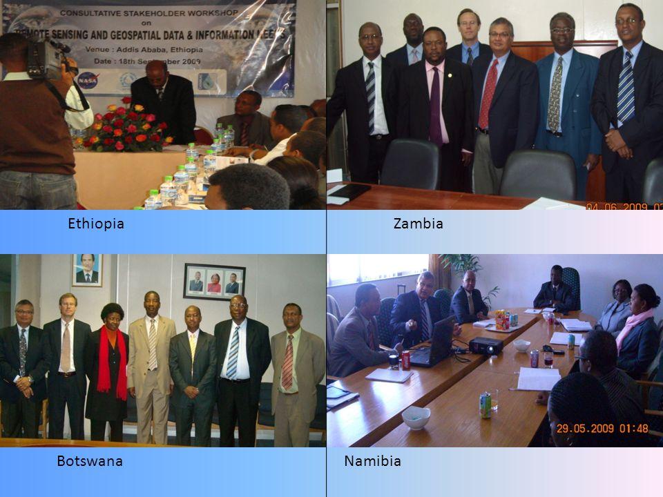 Zambia BotswanaNamibia Ethiopia