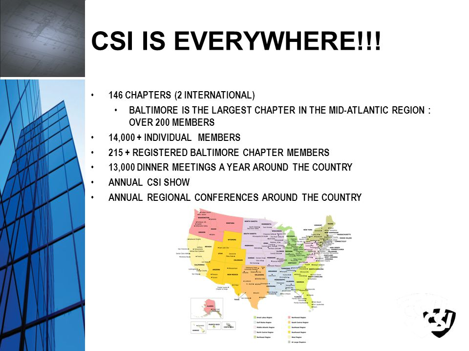 CSI IS EVERYWHERE!!.