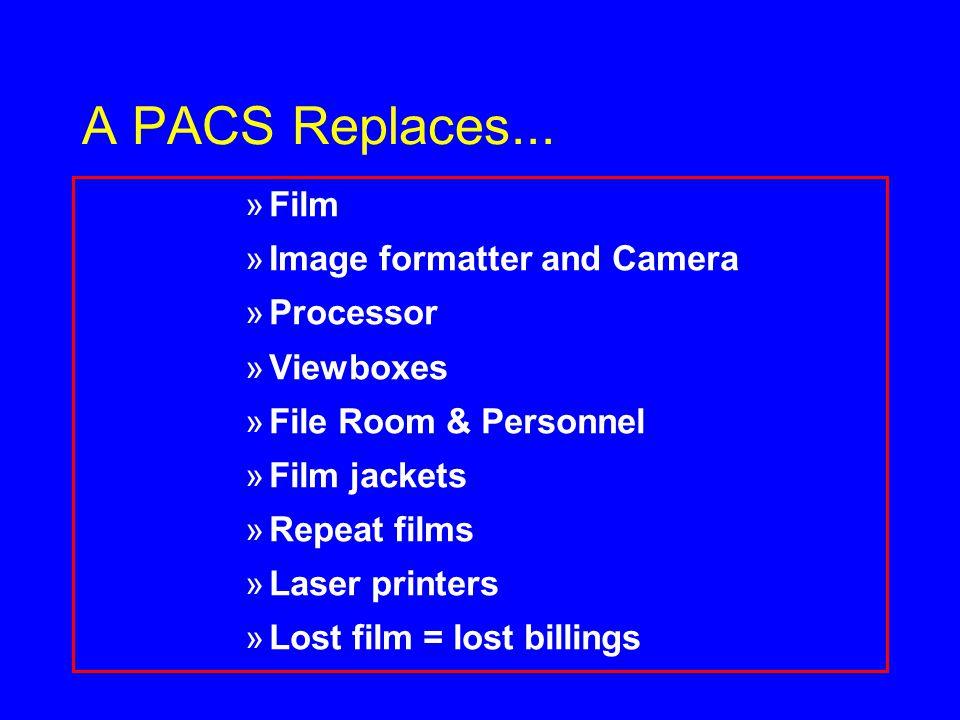 A PACS Replaces...