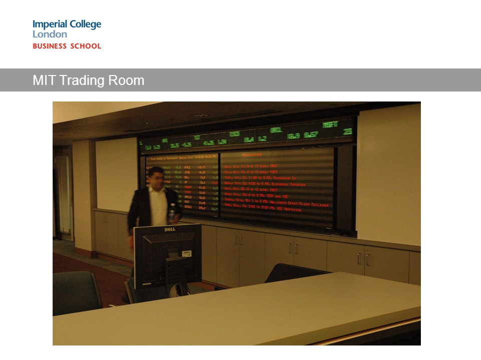 MIT Trading Room