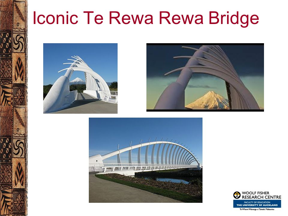 Iconic Te Rewa Rewa Bridge