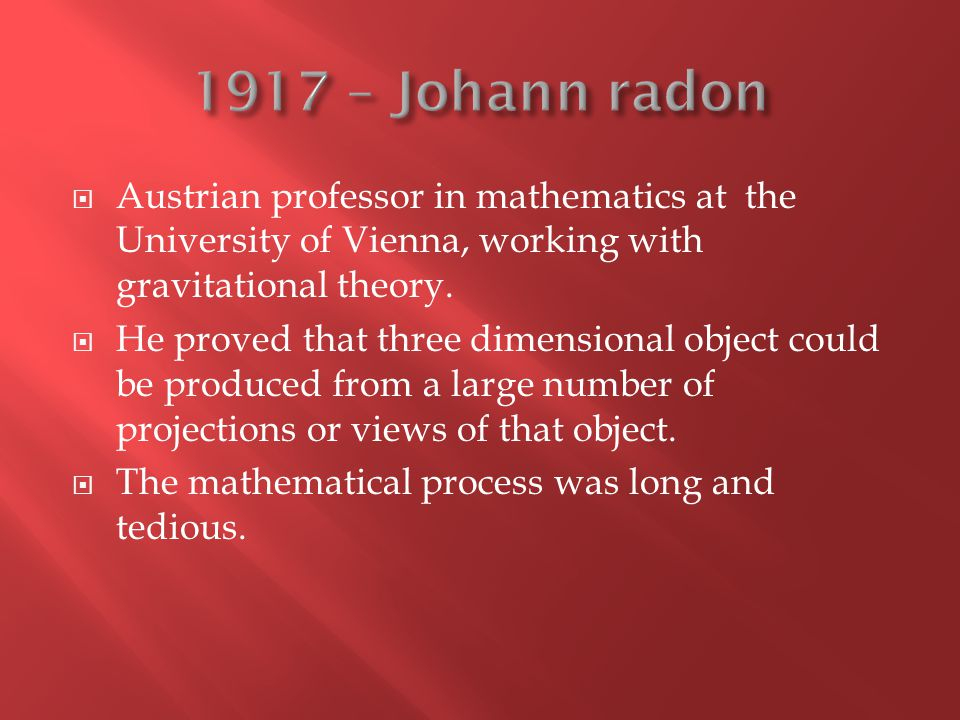  Austrian professor in mathematics at the University of Vienna, working with gravitational theory.