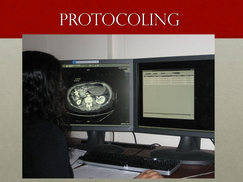 Protocoling