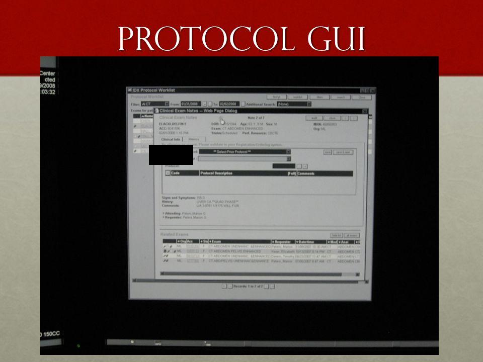 Protocol GUI