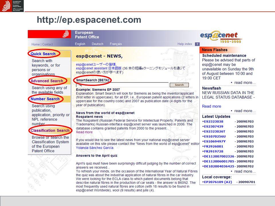http://ep.espacenet.com
