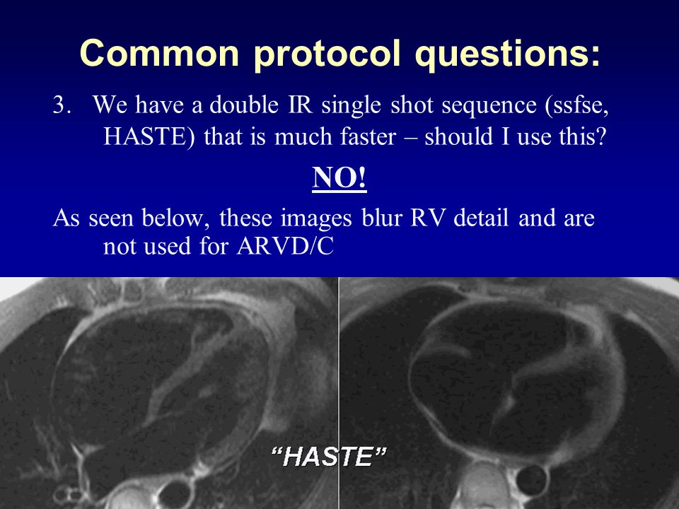 Common protocol questions: 3.