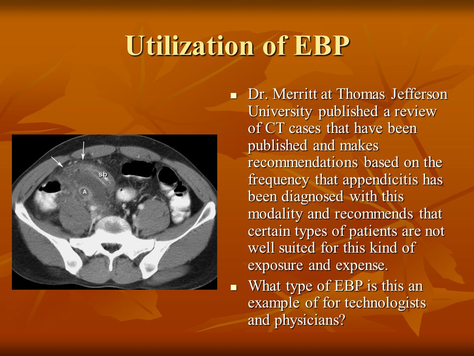 Utilization of EBP Dr.