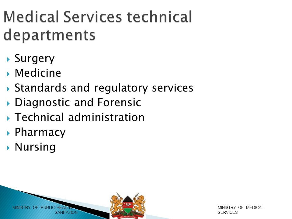  Psychosocial and counselling services integrated in health service delivery  Draft standards and guidelines for medical social workers has been developed.