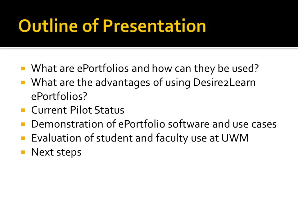  What are ePortfolios and how can they be used.