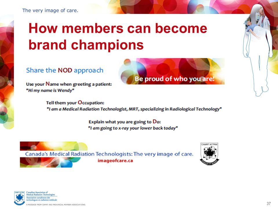 37 How members can become brand champions