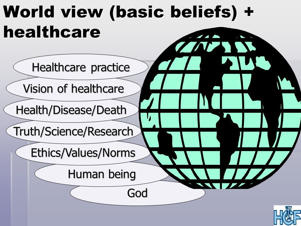 Healthcare, salt and light  Salt:  Healthcare inside the national system  Influence in personal area of authority  Working in secular institutions  Battling in dualistic / pluralistic reality  Light:  Developing models alongside the national system  Influence through inspiring examples  Working in Christian institutions  Seeking to integrate all under the Lordship of Christ