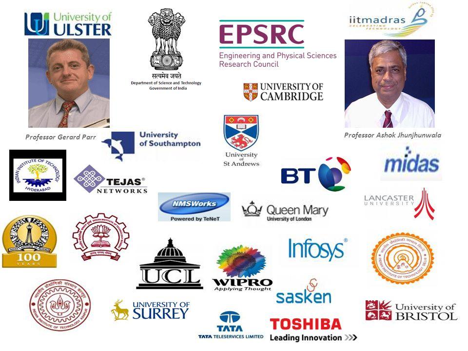 Professor Gerard Parr Professor Ashok Jhunjhunwala