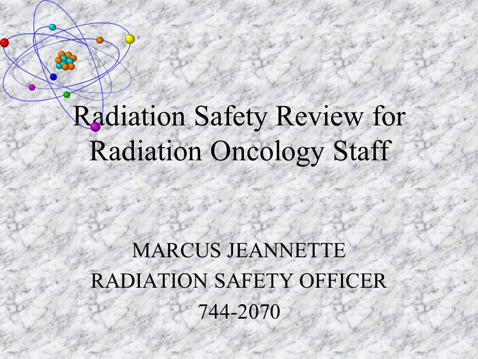 Personnel Dosimetry Review Each monitoring period dose report is reviewed by the Radiation Safety Officer The report is compared against the institution's investigational levels: >200 mrem/monitoring period to whole body > 2000 mrem/monitoring period to extremities > 800 mrem/monitoring period to the skin Action Required: Written notification from RSO to worker and investigation