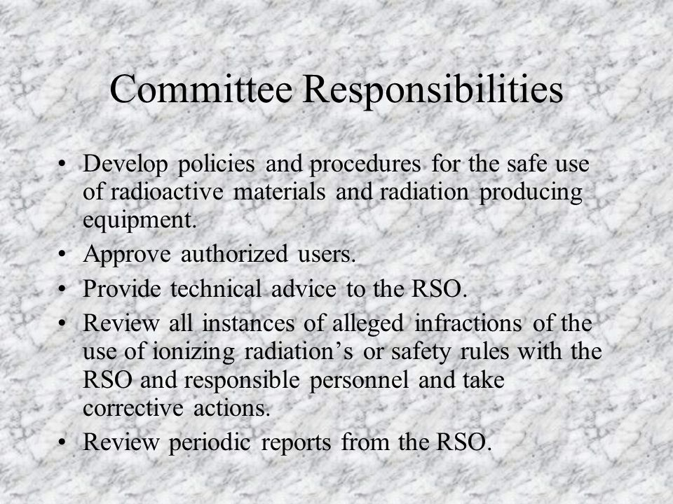 ECU Radiation Safety Committees Basic Sciences-Radiation Safety Committee -Academic Research -Physics Linear Accelerator Clinical Radiation Safety Com